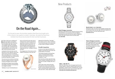 Jeweller World Magazine - September 2017